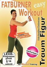 FATBURNER WORKOUT - EASY WORKOUT ZUR TRAUM FIGUR  DVD NEU/OVP