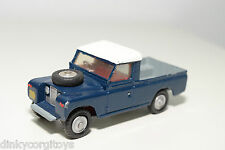 CORGI TOYS 438 LAND ROVER 109 WB DARK BLUE EXCELLENT CONDITION REPAINT