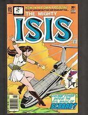 "Isis #1 ~ ""Scarab - The Man Who Would Destroy"" / Movie coming ~ 1976 (7.0) Wh"