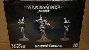 Warhammer 40k 56-29 T'au Empire COMMANDER SHADOWSON NEW/SEALED