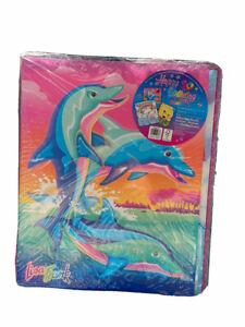 Lisa Frank 30th Birthday School Supplies Binder Bundle Folder Notebook Dolphin