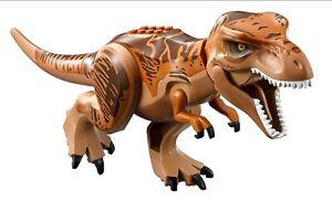 LEGO Jurassic World Fallen Kingdom T-Rex Dinosaur 04 Tyrannosaurus Rex REAL LEGO