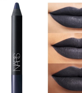 NARS UNSPOKEN LIPSTICK PENCIL Matte Cool Blue Gothic Dark Permanent Lip Color
