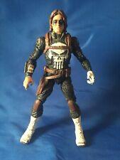 Bucky Winter Soldier Custom Paint Punisher Marvel Legends