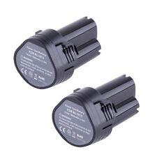 2X 10.8 Volt Li-ion Battery for Makita BL1013 194551-4 194550-6 TD090DW LC H9F6