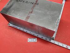 495x 643x 121 Aluminum 7075 T6511 Flat Bar Solid Plate Mill Stock