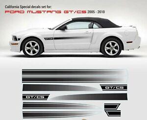 California Special GT/CS Rocker Fade Stripes 2005 2006 2007 2008 2009 2010