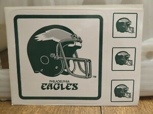 PHILADELPHIA EAGLES STICKERS (4 per sheet)