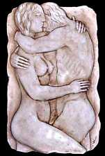Lovers 100% Australian wall plaque Sculpture 50 cm made in Sydney