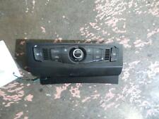 AUDI A4 HEATER/AC CONTROLS B8 8K, SINGLE KNOB DIAL, 04/08-06/12 08 09 10 11 12