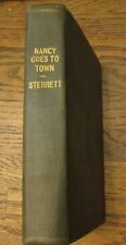 Nancy Goes To Town by Francis R Sterrett 1920 Appleton & Company Edition