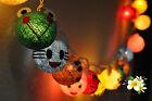 20 Mixed Cartoon Cotton Ball String Fairy Kid Bedroom & Room Decor Lights