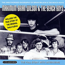 BEACH BOYS & BRIAN WILSON New Sealed COMPLETE BIOGRAPHY & INTERVIEWS CD