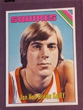 1975 Topps Jan Van Breda Kolff RC #307 Squires NM/MT 002