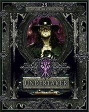 Undertaker: 25 Years of Destruction by Sullivan Kevin (New Hardback Book) WWE