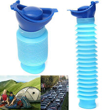 Unisex Adult Portable Toilet Bottle Outdoor Travel Camping Stand Urinal Pee Loo