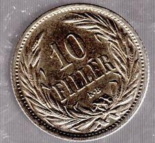 10 FILLER Austria-Ungheria 1908 KB per l'Ungheria in Vz.