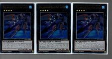 Playset of 3x Ultra Rare Holo - Full Armored Black Ray Lancer DUSA-EN008