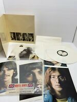 The Beatles White Album / white vinyl U.K. 1978 export EX condition, complete LE