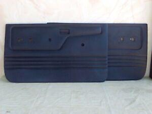 Ford Ranger / Bronco II Door Panels, ABS plastic (L&R pr.), BLACK, 1983 -1988