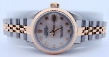 Rolex Ladies Datejust Two Tone Automatic Watch
