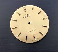 NOS Omega 1735 dial esfera quadrante NEW geneve swiss vintage watch 28,4 mm Ω