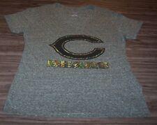 Women'S Teen Chicago Bears Nfl Football Camo Print T-Shirt Large New