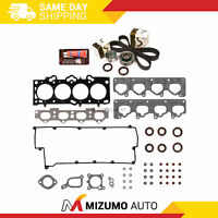 Head Gasket Set Timing Belt Kit Fit 02-06 Hyundai Kia Spectra 2.0 DOHC G4GF