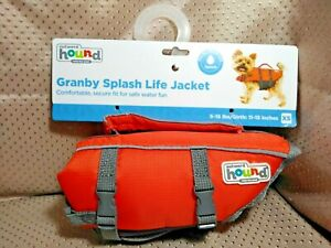 Outward Hound Granby Splash Dog Life Jacket X Small 5-15 Lbs 11-15 In