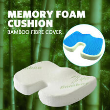 🔥Bamboo Gel Memory foam Coccyx Cushion Posture Back Hip Support Lumbar Car Seat