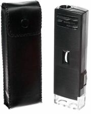 60X100 Illuminated Lighted Handheld Mini Tiny Pocket Small Magnifier Microscope
