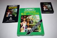 Casino Atari 2600 Video Game Complete in Box