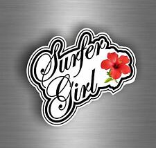 Sticker Car Tuning Motorrad Surf Surfeyr Hibiscus Flower Board