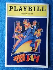 Jelly's Last Jam - Virginia Theatre Playbill - April 1992 - Gregory Hines
