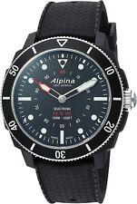 Alpina Men's Seastrong World Timer Rotating Bezel Smart Watch 44mm AL-282LBB4V6