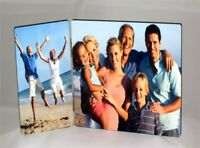 Personalised MDF Rectangle Double Photo Panel