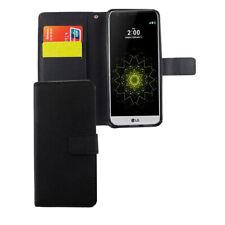 LG G6 Hülle Case Handy Cover Schutz Tasche Flip Schutzhülle Klapptasche Schwarz