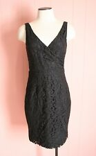 JCrew Sara Dress in Leavers Lace 00 XXS Black