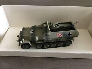 Tank Museum Sandford Model SM52 German Camo Hanomag Halftrack 75mm Anti Tank Gun