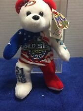 Memorabilia Ml Team Bear Limited Edition Commemorative World Series 2001