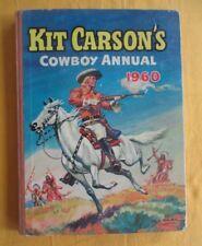 Kit Carson's Cowboy Annual 1960- comic book