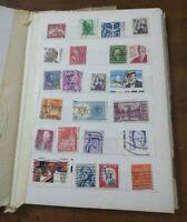 Vintage International 130 Postage Stamp Album Stamps/Post