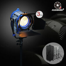 3 pcs 650W Fresnel Tungsten Spot light + Case + Stands*3 Kit Camera Video Studio