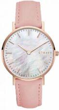 elegante Damen Armbanduhr Silber/rosegold Meschband 2810002 Von Classix