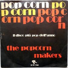 DISCO VINILE 45 GIRI THE POPCORN MAKERS TOAD IN THE HOLE