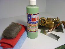 Gord's Aluminum Chrome Stainless Copper Brass/Cleaner-Polish-Sealer 16 FL OZ Kit