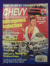 CHEVY HI PERFORMANCE - INDUCTION - Dec 1998