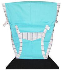 New Portable Baby Chair/High Chair Harness, Aqua