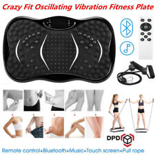 Crazy Fit Oscillating Vibration Power Massage Fitness Plate Body Shaker Machine