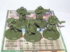 """Dust Tactics ALLEATE """"BBQ Squadra Rangers Squadra di assalto"""""""